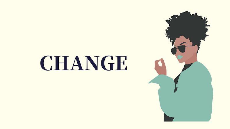 CHANGEと言う女性