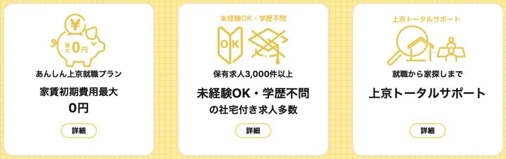 MIYAKO TICKET(ミヤコチケット)の特徴